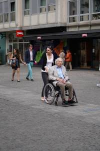 old man wheelchair
