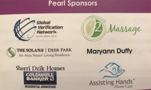 Assisting Hands Home Care Palatine was One of the Pearl Sponsors for the Palatine Township Senior Citizens Council