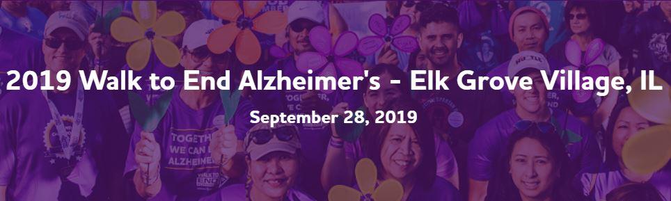 Alzheimers sponsor event