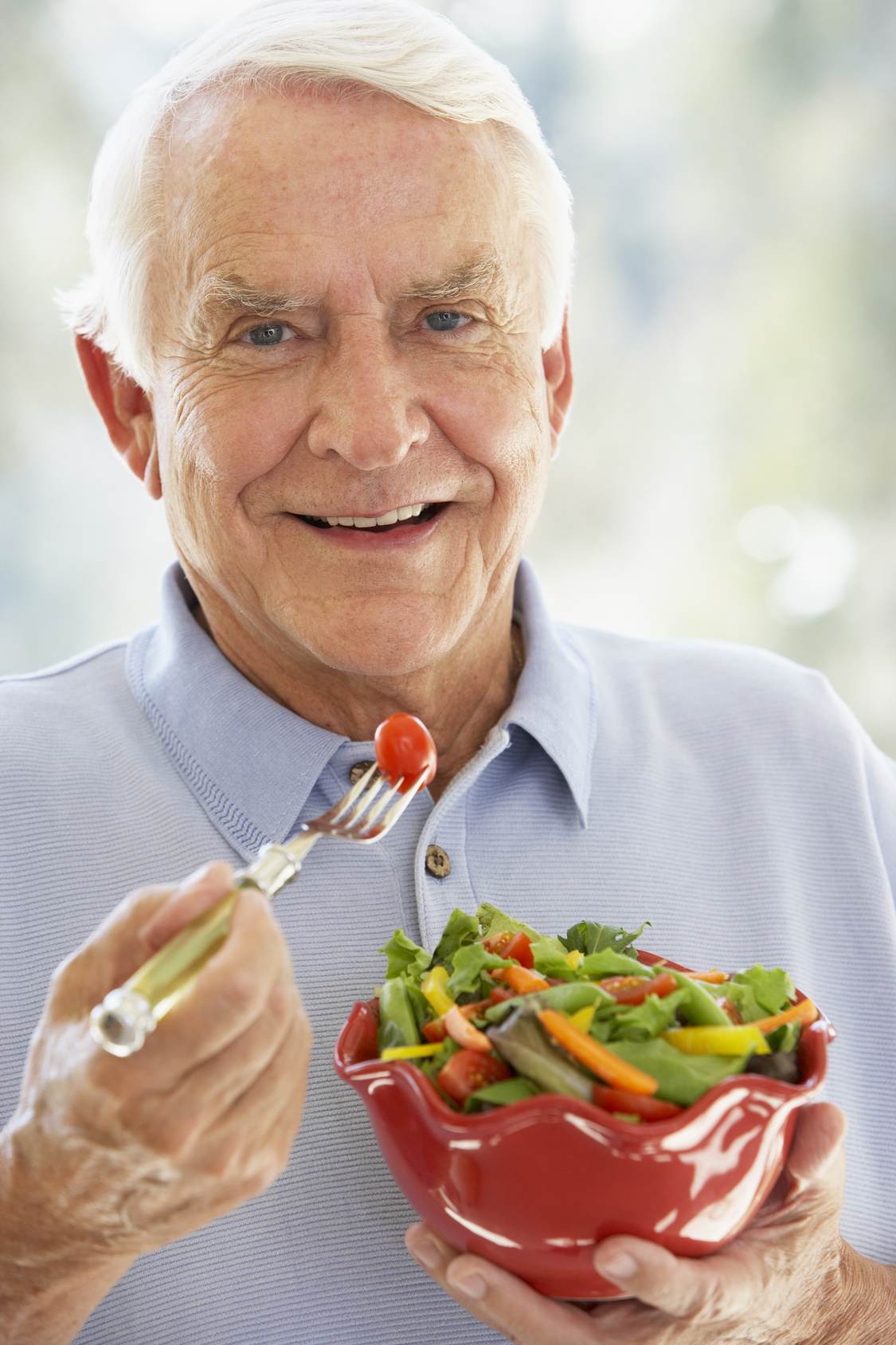 Senior-Eating-Healthy-Salad