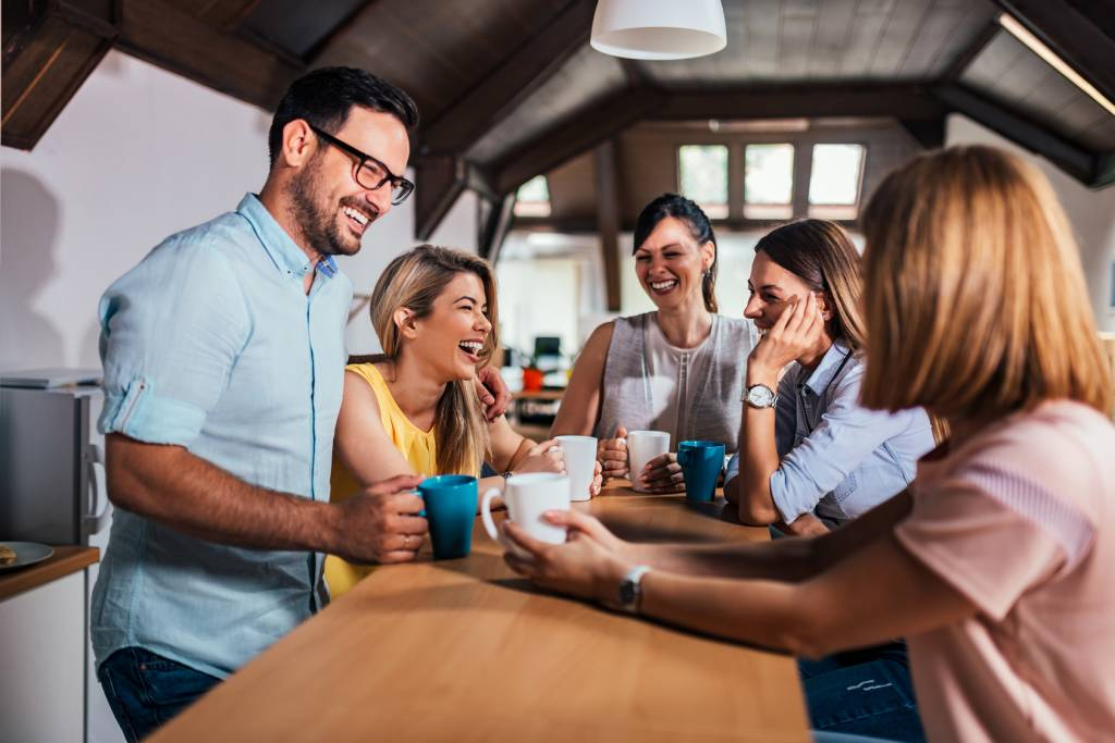 Young-People-Office-Coffee-Laughing