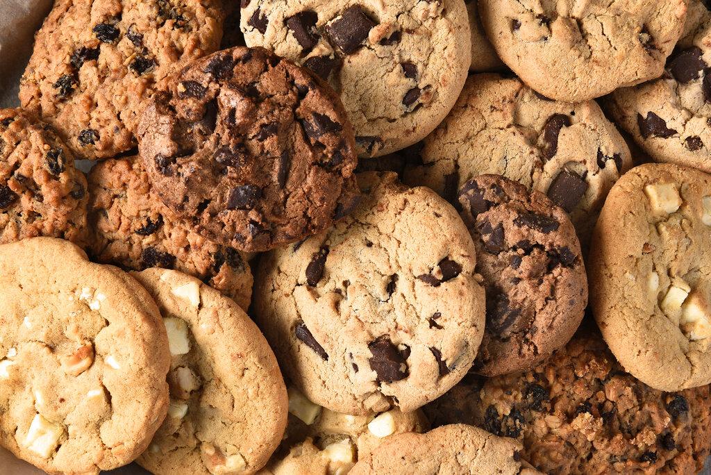 Assorted Cookie Closeup