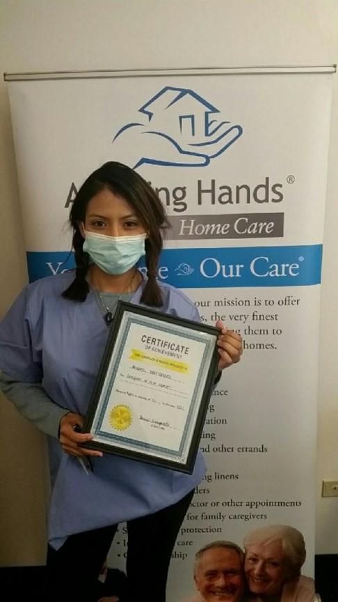 Assisting Hands Park Ridge April Caregiver Andrea