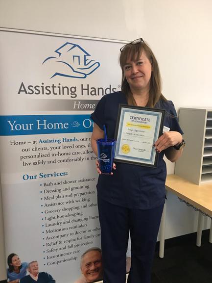 Assisting Hands Schaumburg April Caregiver - Evelyn