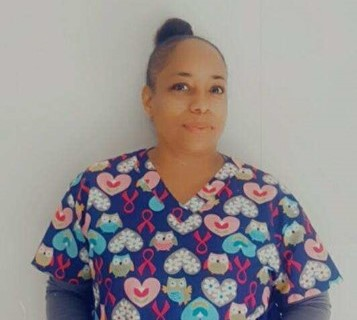 Stacey - May Above and Beyond Caregiver of the Month