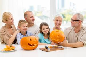 Family craving a pumpkin