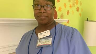 September Caregiver of the Month: Leslie Rogers