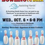 October Assisting Hands Partner Event